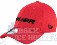 Bauer New Era 39Thirty Shadow Tech Cap - Red