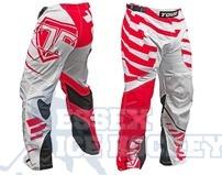 Tour Long Inline  Pants Code Activ Red & White Senior