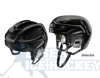 Warrior Alpha One Helmet Senior Black