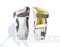 Warrior Dynasty AX4 Ice Hockey Elbow Pads - Junior