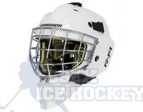 Warrior Ritual R/F1 Junior Certified  Goalie Mask